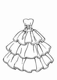 Cozy Ideas Printable Girl Coloring Pages Wedding Dress Beautiful Page For Girls Free
