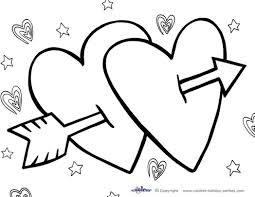 Marvellous Inspiration Valentine Day Printable Coloring Pages Valentines Activities Archives