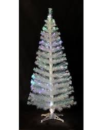 Fiber Optic Christmas Trees On Sale by White Fibre Optic Christmas Trees Christmas Tree World