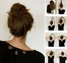 Easy Hair Bun Step By Tutorials