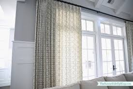 Grey Geometric Pattern Curtains by Family Room Drapes Pillows The Sunny Side Up Blog