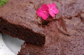 gâteau très chocolaté à la purée de noisettes sans beurre et à