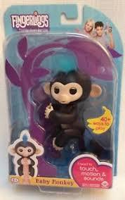 Image Is Loading Authentic WowWee Fingerlings Baby Monkey FINN NEW In