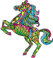 Horse Coloring Book For Adults Android IOS And Windows Phone
