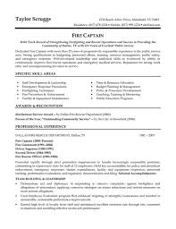 Resume Sample Law Enforcement Resume