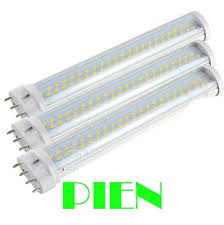 2g11 pl l led 9w 230mm tubo laras high power