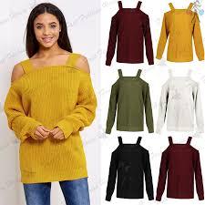 womens oversized jumper ebay