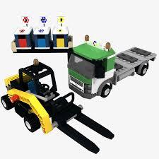 100 Lego Recycling Truck 3D Model 29 Max Obj Fbx Dwg 3ds