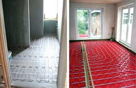 heated tile floor cost heated bathroom floor installation tile