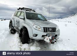 100 Toyota Artic Truck Arctic Trucks Heavily Modified Landcruiser Driving On Snow In
