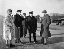 Winston Churchill Iron Curtain Speech Video by Jan 17 1945 Winston Churchill With Harry Hopkins The Prime