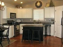 Full Image For Black Appliances With Off White Cabinets And Kitchen Cabinet Images