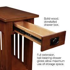 Amazon Leick Furniture Mission Side Table Medium Oak Kitchen