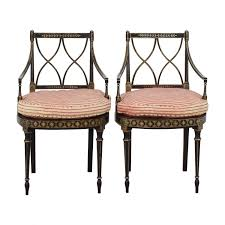 90% OFF - Antique French Empire Red And White Stripe Side Chairs ... Antique French Louis Style Wooden Rocking Chair Linen Upholstered Chairsantique Arm Chairsoccasional Chairs Vintage Tufted Leather And Mahogany At 1stdibs For Sale Pamono Bamboo Rattan English Traditions Inc Dollhouse Simon Et Rivollet Rocking Chair Penny Toy Rocker Mt Airy Shelby County Tn Ca 1835 Estate Sale La Rochelle