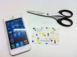 How to trim your SIM to iPhone 5 nano SIM size CNET