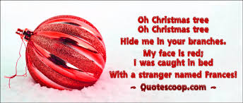 Funny Christmas Poem On Printable Card Picture Of Pretty Ball