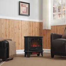 Decor Flame Infrared Electric Stove by Duraflame 550 Black Infrared Freestanding Electric Fireplace Stove
