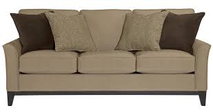 Broyhill Laramie Microfiber Sofa In Distressed Brown by Broyhill Sofas Broyhill Harrison 6751 Sofa Collection