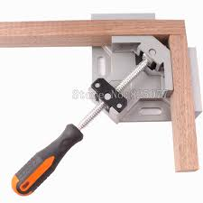 90 Degrees Corner Clamp Right Angle Woodworking Vice Wood Metal Weld Welding Aluminum Alloy