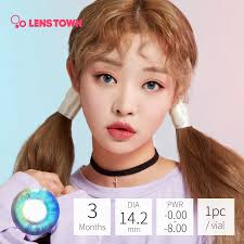 Lens Nine Wannaful Monthly Pury Brown 2 PcsP475 HKTVmall
