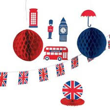 Royal Baby Shower Decor Kit British PartyA
