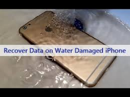 Recover Export Data from A Water Damaged iPhone