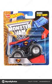 Superman Monster Truck Hot Wheels Diecast Toy Car – Stock Editorial ... Hot Wheels Trackin Trucks Speed Hauler Toy Review Youtube Stunt Go Truck Mattel Employee 1999 Christmas Car 56 Ford Panel Monster Jam 124 Diecast Vehicle Assorted Big W 2016 Hualinator Tow Truck End 2172018 515 Am Mega Gotta Ckc09 Blocks Bloks Baja Bone Shaker Rad Newsletter Dairy Delivery 58mm 2012 With Giant Grave Digger Trend Legends This History Of The Walmart Exclusive Pickup Series Is A Must And