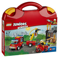 100 Lego Fire Truck Games LEGO Juniors Patrol Suitcase 10740 Toy For 47YearOlds