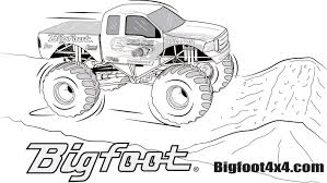 Monster Truck Coloring Pages Printable | Free Coloring Pages For Kids Kn Printable Coloring Pages For Kids Grave Digger Monster Truck Page And Coloring Pages Free Books Bigfoot Page 28 Collection Of Max D High Quality To Print Library For Birthday Transportation Cool Kids Transportation Line Art Download Best Drawing With Blaze Boy