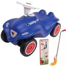 Details Zu Big New Bobby Car 800056160 Royalblau Schubstange Zubehör Bobycar Auto Rutscher