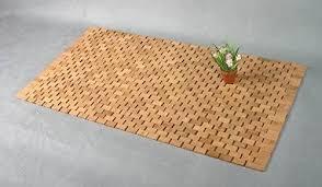 kesper fußmatte bambus badezimmermatte bambus matte