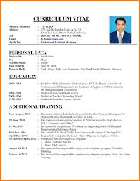 How To Write A Cv Examplehow Resume Sample Examples Example
