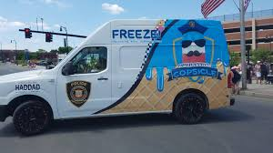 Our Police Department Bought An Ice Cream Truck To Give Away Free ...