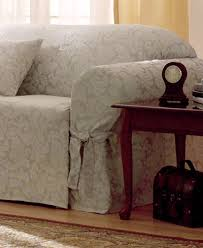 Sure Fit Scroll T Cushion Sofa Slipcover by Sure Fit Scroll Furniture Slipcovers Slipcovers For The Home
