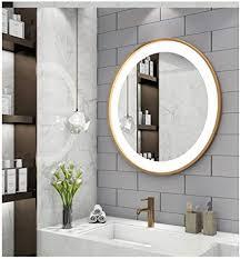 de wyqsz moderner minimalistround spiegel hd