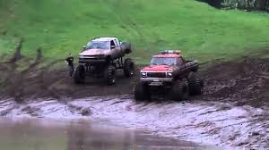 100 Ford Mud Trucks Chevy Vs At Eagle Mountain Runs 2011 YouTube