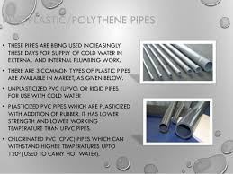 Pictures Types Of Pipes Used In Plumbing by Types Of Pipes