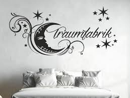 dekoration wandtattoo schlafzimmer bett traumfabrik uss029