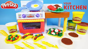 Play Doh Meal Makin Kitchen Playset Yummy Foods and Fruits