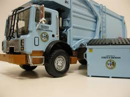First Gear City Of Chicago Front Load Trash Truck W. Dumpster. - A ...