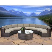 Suncast Outdoor Patio Furniture by Patio Furniture Circular Home Design Magnificent Round Sectional