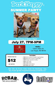 BarkHappy Las Vegas Summer Party Benefiting A Home 4 Spot Animal