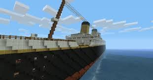 r m s titanic 100th year commemoration minecraft project