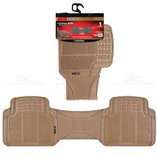 1pc Beige Rubber Floor Mat Rear Car SUV Heavy Duty All Weather Liner ... Customfit Faux Leather Car Floor Mats For Toyota Corolla 32019 All Weather Heavy Duty Rubber 3 Piece Black Somersets Top Truck Accsories Provider Gives Reasons You Need Oxgord Eagle Peterbilt Merchandise Trucks Front Set Regular Quad Cab Models W Full Bestfh Tan Seat Covers With Mat Combo Weathershield Hd Trunk Cargo Liner Auto Beige Amazoncom Universal Fit Frontrear 4piece Ridged Michelin Edgeliner 4 Youtube 02 Ford Expeditionf 1 50 Husky Liners