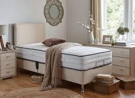 Bedroom Adjustable Beds Reviews Adjustable Bed Mattress Metal