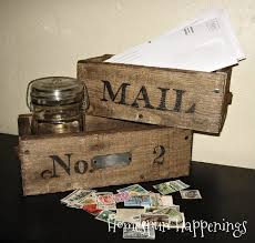 Homespun Happenings Boxes Made From Pallet Wood Small Crafts How To Make