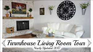 living room tour 2017 farmhouse style makeover momma from