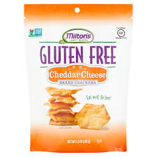 Milton s Craft Bakers Gluten Free Cheddar Cheese Baked Crackers