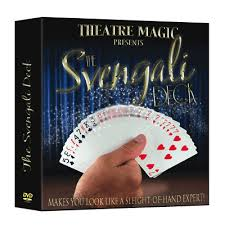 svengali deck dvd and gimmick by theatre magic