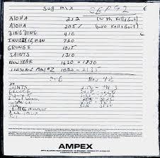 Setlist Smashing Pumpkins Glastonbury 2013 by Music Art Vcl The Breeders Last Splash Demos Cro Magnon